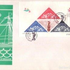 Sellos: ESPAÑA 1992. FDC. SOBRE 1ER. DIA. V CENTENARIO DESCUBRIMIENTO DE AMERICA. CRISTOBAL COLON.. Lote 133827570