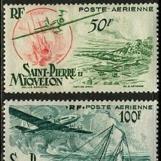 Sellos: SAN PEDRO MIQUELON 1947 NUEVOS **. Lote 147694310