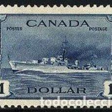 Sellos: CANADA 1943 DESTRUCTOR NUEVO *. Lote 155338322