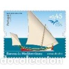 Sellos: PORTUGAL ** & BARCOS DEL MEDITERRÁNEO, CANOA DEL ALTO 2015 (1776). Lote 156715466