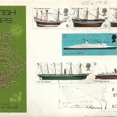 Sellos: FIRST DAY OF ISSUE BRITISH SHIPS H.M.S. VICTORY. Lote 160573330