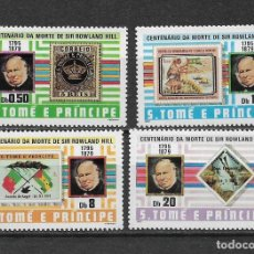 Sellos: ST. THOMAS AND PRINCE ISLANDS 1980 SC 573-576 (4) 10.00 ** - 5/6. Lote 161978386