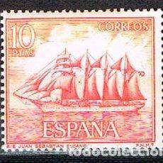Sellos: EDIFIL Nº 1612, EL JUAN SEBASTIÁN ELCANO, NUEVO ***. Lote 210577861