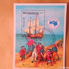 Sellos: SELLO NICARAGUA AUSIPEX 84. Lote 193114557