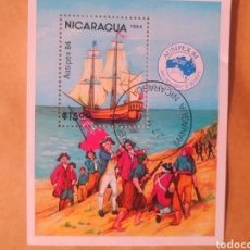 Sellos: SELLO NICARAGUA AUSIPEX 84. Lote 193114728
