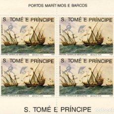 Sellos: SANTO TOME & PRINCIPE. BARCOS I. Lote 193813983