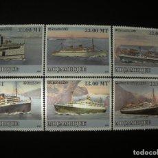 Sellos: MOZAMBIQUE 2009 MICHEL 3095/10 *** HISTORIA DEL TRANSPORTE (III) - BARCOS. Lote 198328541