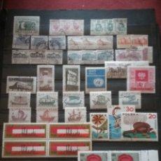 Sellos: SELLOS R. POLONIA MTDOS/1965/8 SERIES COMPLETAS/MONUMENTOS/DINOSAURIOS/INDUZTRIA/BARCOS/CABALLOS/. Lote 202319420