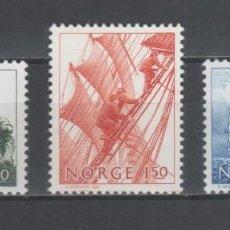 Sellos: SERIE COMPLETA NUEVA ** MNH, DE NORUEGA -LA ERA DE LOS GRANDES VELEROS-, AÑO 1981. Lote 202406666
