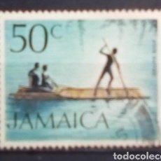 Sellos: JAMAICA BALSAS SELLO USADO. Lote 203920091