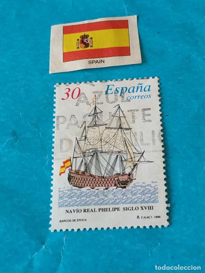 ESPAÑA BARCOS 1 (Sellos - Temáticas - Barcos)