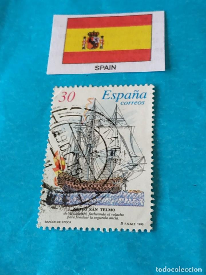 ESPAÑA BARCOS 2 (Sellos - Temáticas - Barcos)