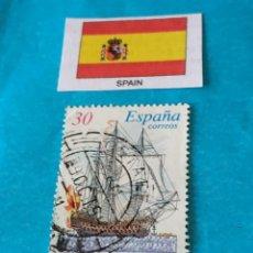 Sellos: ESPAÑA BARCOS 2. Lote 213021106