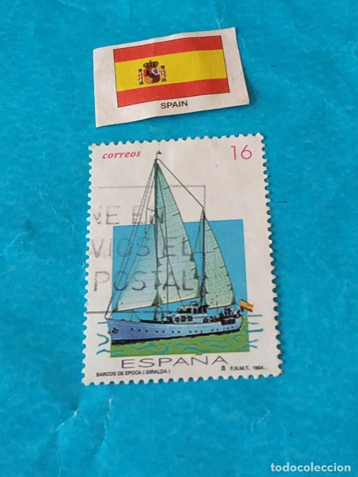 ESPAÑA BARCOS 3 (Sellos - Temáticas - Barcos)