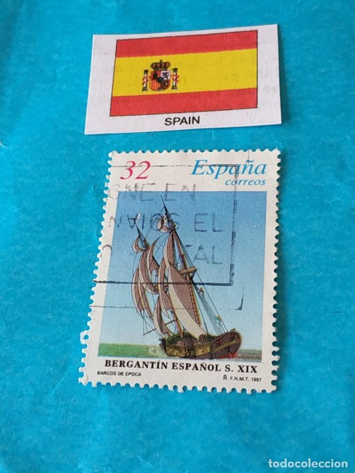 ESPAÑA BARCOS 4 (Sellos - Temáticas - Barcos)