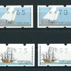 Sellos: SELLOS PORTUGAL 1995 ATM'S BARCOS. Lote 220699520