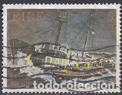 LOTE DE SELLOS - IRLANDA - MARINA - BARCOS - BUQUES - VELEROS (AHORRA EN PORTES, COMPRA MAS) (Sellos - Temáticas - Barcos)