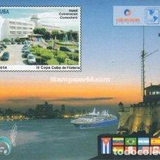 Sellos: 5836 CUBA 2014 MNH THE 3RD COPA CUBA DE FILATELIA. Lote 228164482