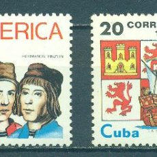 Sellos: 3534 CUBA 1991 MNH AMERICA - VOYAGES OF DISCOVERY. Lote 228164607