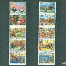 Sellos: MS3640 CUBA 1992 MNH LATIN-AMERICAN HISTORY. Lote 228164625