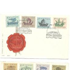 Sellos: BARCOS A VELA. 2 SPD. POLONIA 1963. Lote 230898745