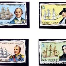 Sellos: GILBERT ISLANDS - 1977 - TEMA BARCOS - YVERT 44/47 SERIE COMPLETA NUEVA. Lote 231248185