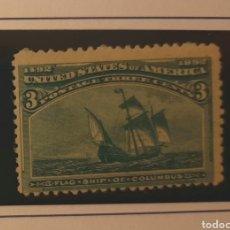 Sellos: USA 1893 3C. MNH*. DESCUBRIMIENTO AMÉRICA. Lote 239491665
