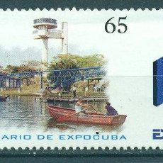 Sellos: CUBA 2004 THE 15TH ANNIVERSARY OF THE EXPOCUBA MNH - SHIPS, TRANSPORT. Lote 241337850