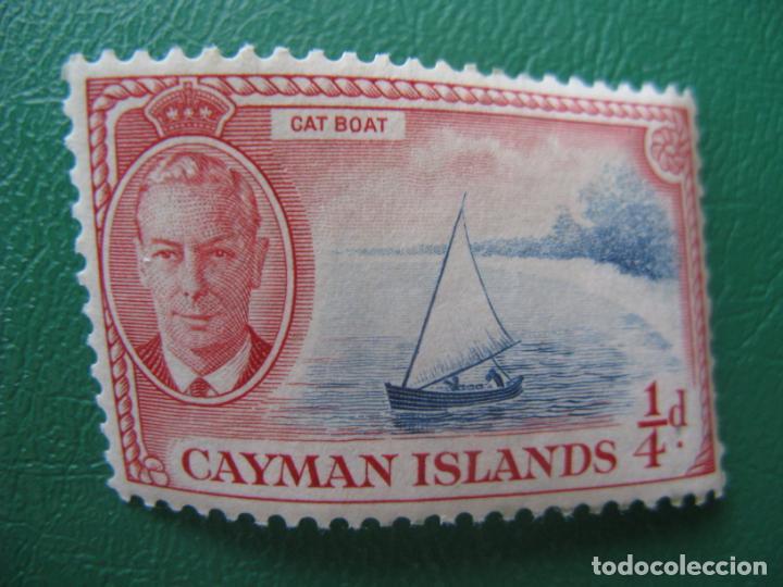 *ISLAS CAIMAN, 1950, BARCO GATO, YVERT 126 (Sellos - Temáticas - Barcos)
