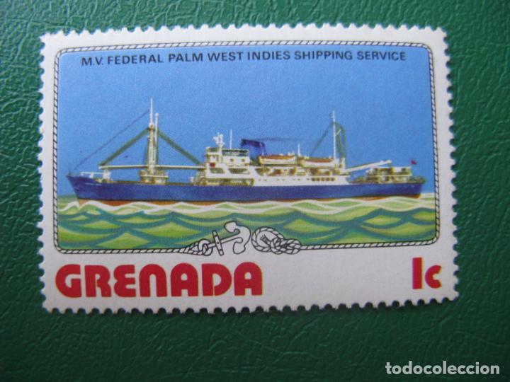 *GRENADA, SELLO NUEVO TEMA BARCOS (Sellos - Temáticas - Barcos)
