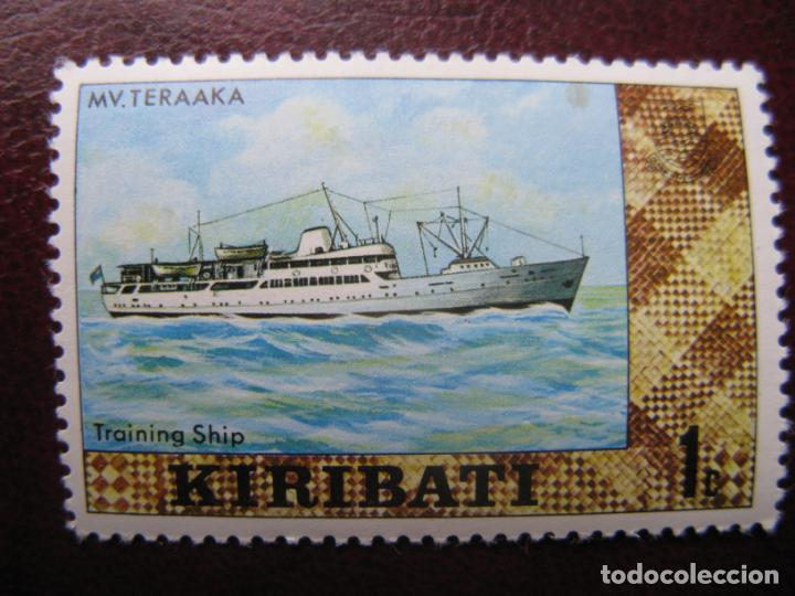 KIRIBATI, 1979, NAVIO MV. TERAAKA, YVERT 16A (Sellos - Temáticas - Barcos)