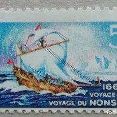 Sellos: 1968. CANADÁ. 403. TRICENTENARIO DEL VIAJE DEL BARCO 'NONSUCH' (1668). SERIE COMPLETA. USADO.. Lote 245440800