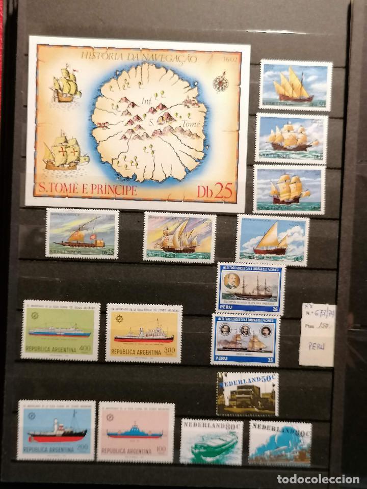 Sellos: Barcos lote sellos Resto de Coleccion en Nuevo Perfecto *** - Foto 2 - 245497155