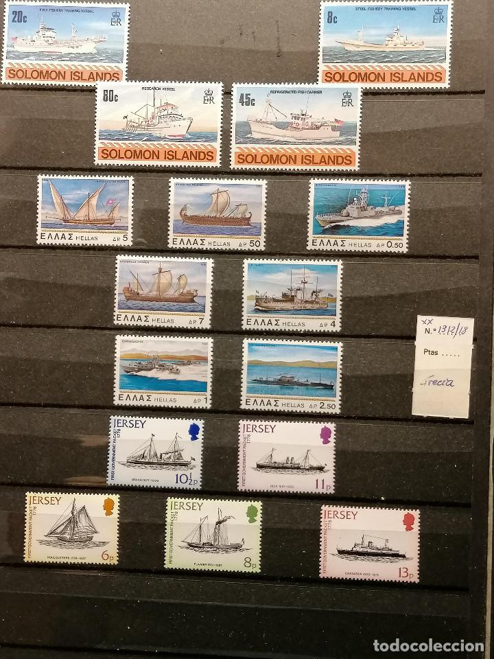 Sellos: Barcos lote sellos Resto de Coleccion en Nuevo Perfecto *** - Foto 3 - 245497155