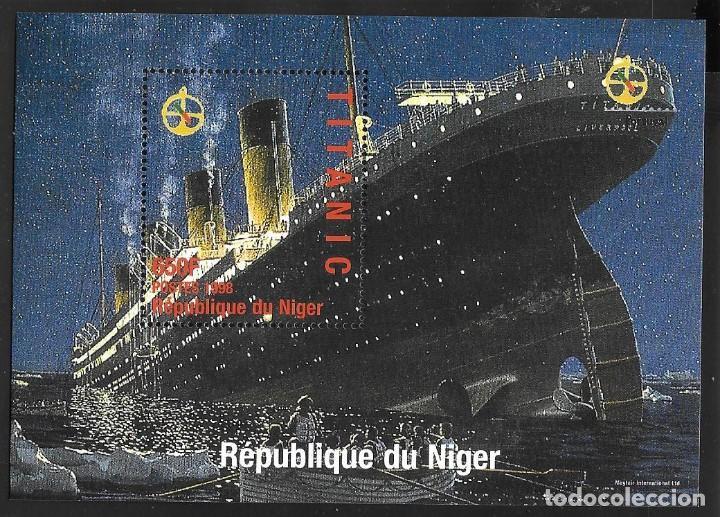 NIGERIA - TITANIC (Sellos - Temáticas - Barcos)