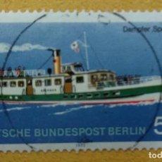 Francobolli: ALEMANIA BERLÍN 1975.STEAMER 'SPERBER' YT:DE-BE 449,. Lote 253360650