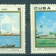 Sellos: ⚡ DISCOUNT CUBA 1990 THE 25TH ANNIVERSARY OF THE POSTAL MUSEUM MNH - SHIPS, MAIL HISTORY. Lote 253839080