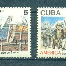 Sellos: ⚡ DISCOUNT CUBA 1992 AMERICA - THE 500TH ANNIVERSARY OF THE DISCOVERY OF AMERICA BY COLUMBUS. Lote 253839595