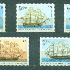 "Sellos: ⚡ DISCOUNT CUBA 1996 INTERNATIONAL STAMP EXHIBITION ""CAPEX'96"" - TORONTO, CANADA MNH - SHIPS. Lote 253840310"