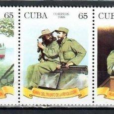 Sellos: ⚡ DISCOUNT CUBA 1999 THE 40TH ANNIVERSARY OF THE REVOLUTION MNH - SHIPS, REVOLUTION, WEAPON,. Lote 253841060