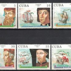 "Sellos: ⚡ DISCOUNT CUBA 1992 INTERNATIONAL THEMATIC STAMP EXHIBITION ""GENOVA '92"" - EXPLORERS AND THEI. Lote 255627155"