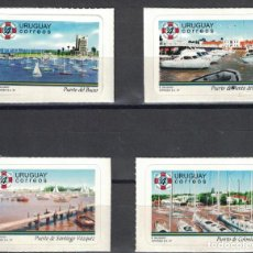 Sellos: ⚡ DISCOUNT URUGUAY 1997 YACHTING HARBOURS MNH - YACHT. Lote 255632290