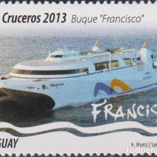Sellos: ⚡ DISCOUNT URUGUAY 2013 CRUSIE LINERS MNH - SHIPS. Lote 262873750