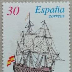 Sellos: 1996. ESPAÑA. 3415. BARCO 'REAL PHELIPE'. SIGLO XVIII. NUEVO.. Lote 269482728