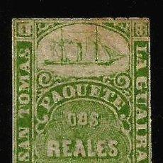 Sellos: SAN TOMAS LA GUAIRA Pº CABELLO 1868. Lote 276212443
