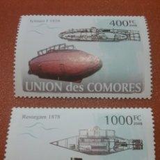 Sellos: SELLO COMORAS (I. COMORES) NUEVO/2008/BARCOS/SUBMARINO/MILITAR/TRANSPORTE/LEER REGALO DESCRIPCION. Lote 276955733