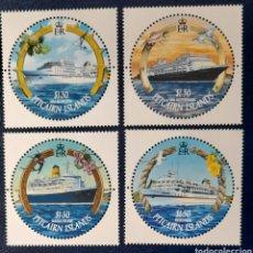 Sellos: BARCOS PITCARIN ISLANDS 2001/**. Lote 278390978