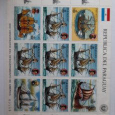 Sellos: BARCOS PARAGUAY /**1985HB.. Lote 278431413