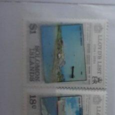Sellos: BARCOS SOLOMON ISLANDS 1984/**. Lote 278445258