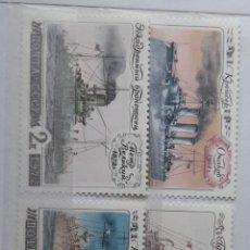 Sellos: BARCOS RUSIA 1972/**YV.3888/92. Lote 278445458